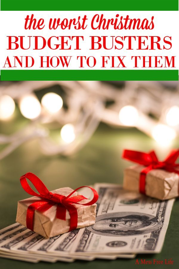 Christmas Budget Busters | Christmas on a budget, Frugal ...