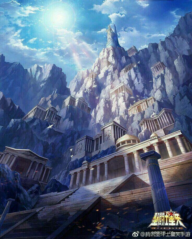 Las doce casas los caballeros del zodiaco cavaleiros - Casas del zodiaco ...