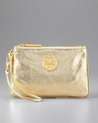 Tory Burch Metallic Leather bag! Love!