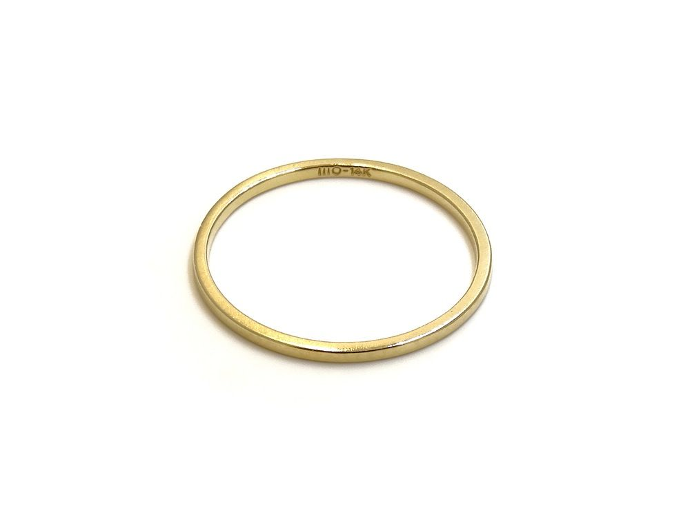 gold ring no.2 | recycled 14k gold | handmade in nyc