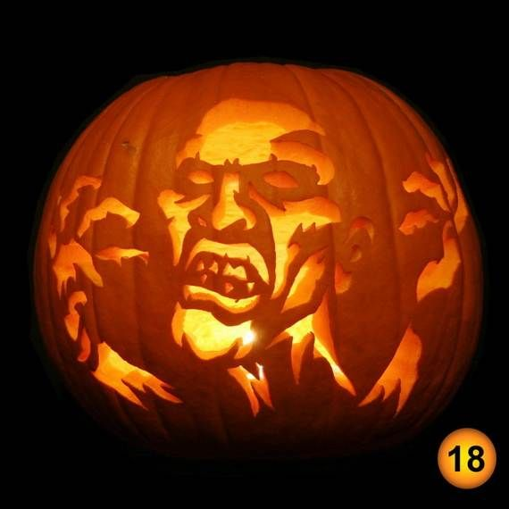 70 cool easy pumpkin carving ideas for wonderful halloween day family holidaynetguide to family holidays on the internet - Unique Pumpkin Carving Ideas
