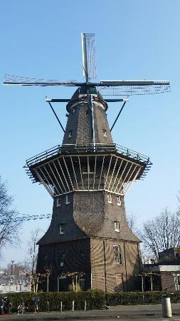 De Gooyer Windmill In 2020 Windmill Netherlands Tourism