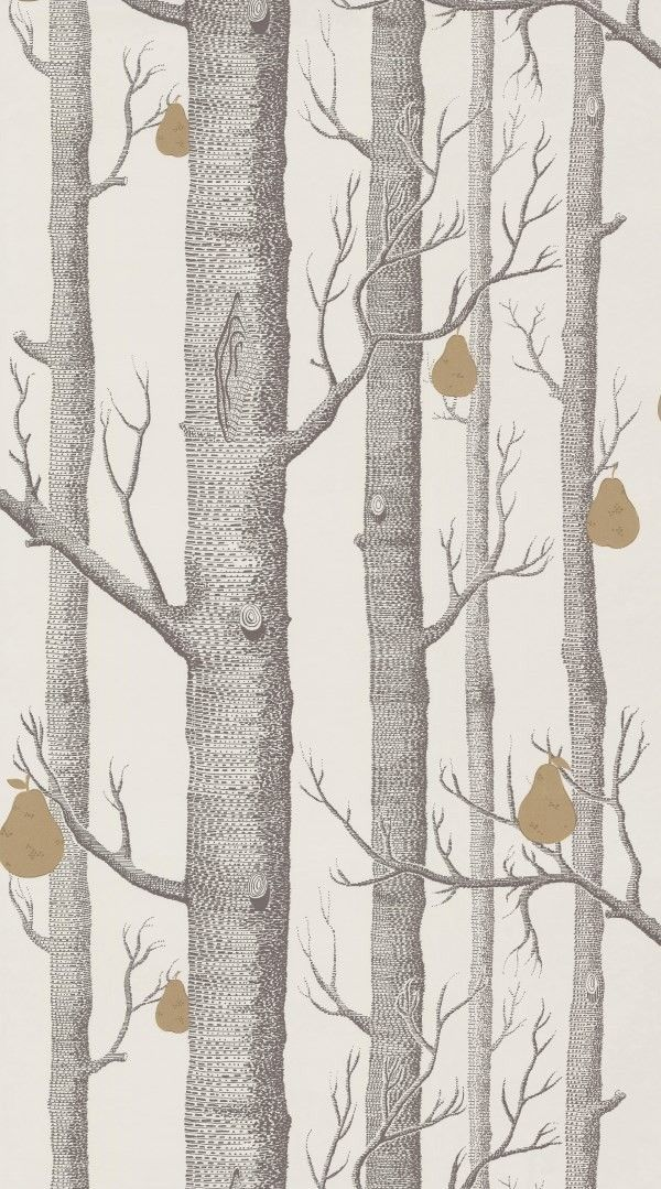 Cole Son Contemporary Restyled Woods Pears 95 5032 Wood Wallpaper Cole And Son Cole And Son Wallpaper