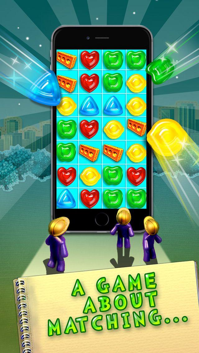 Gummy Drop! (ios) Gummy drop, Games, Match 3 games