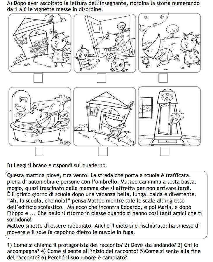 Prove di ingresso italiano   Sequenze   Pinterest   Italienisch