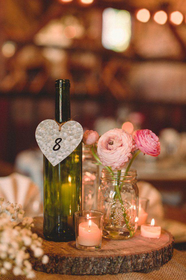 Fall Barn Wedding Pinterest Rustic Wedding Centrepieces Wedding