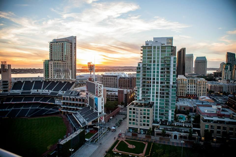 Our Awesome Shot From Digitaria S Great View Of San Diego Photo Petco Park Great View