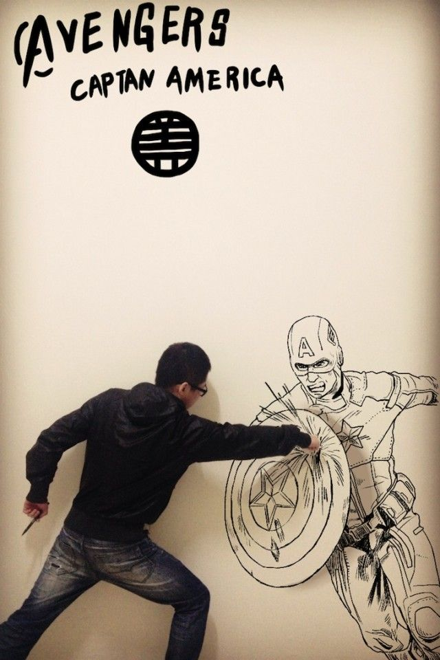 Comic Book Illustrations Into The Real World Manga Art Art