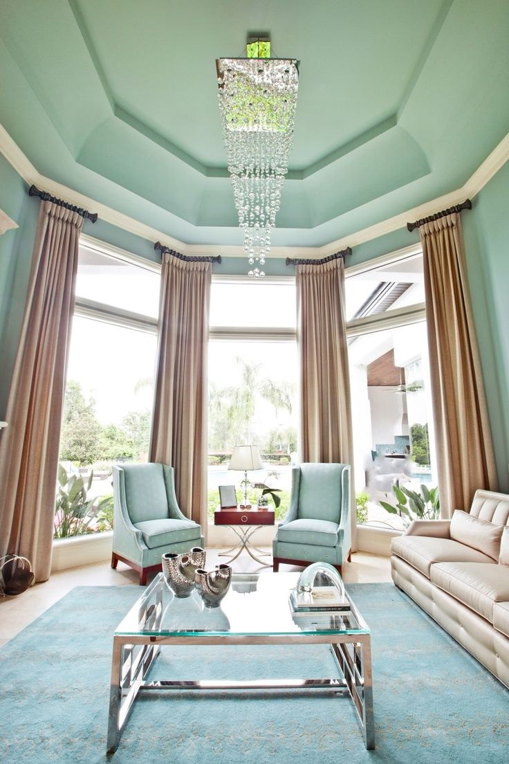 Amazing Mint Color In the Interiors: 35 Trendy Ideas : Mint Color ...