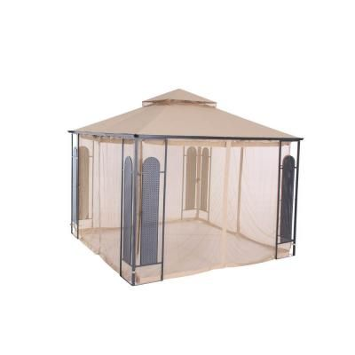 Hampton Bay 10 ft. x 10 ft. Christy Gazebo | Home depot, Bays and Home