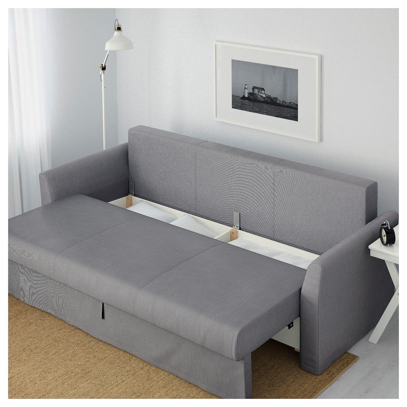 Holmsund Sofa Bed Nordvalla Medium Gray Ikea Sofa Bed Frame