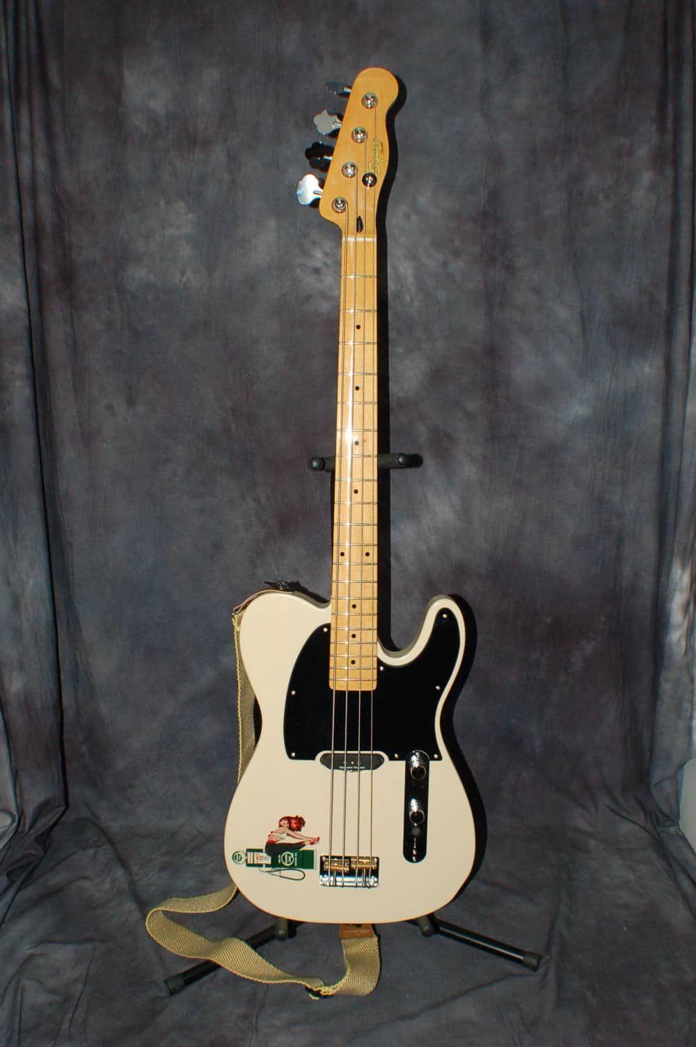 2013 Fender Squire 50 S Vintage Modified Telecaster Bass Seymor Duncan Pickup Gigbag Lawman Guitars Reverb Telecaster Bass Guitar Fender Squire