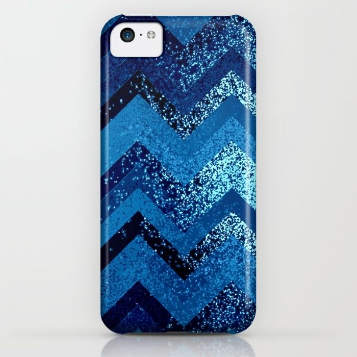 sparkly and dark blue adventure iPhone & iPod Case