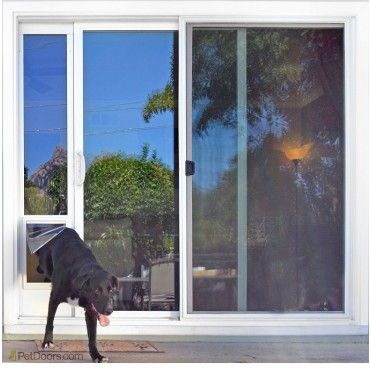 Sliding Door Dog Door Insert Ideal Fast Fit Patio Panel