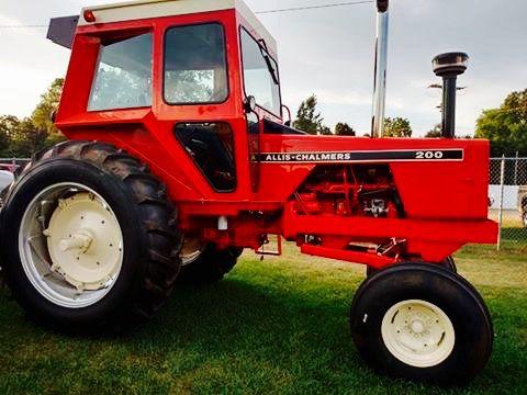 Allis-Chalmers 200 XT   tractors   Tractors, Big tractors ...