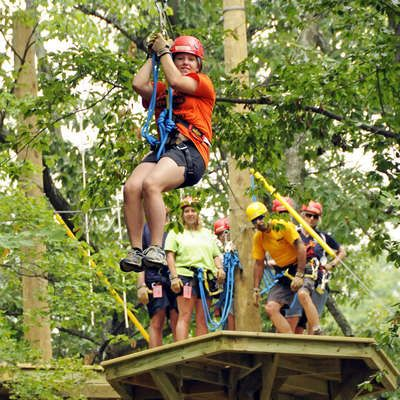 Experience the Zip Line/ Canopy Tour at the Family Adventure Park ...