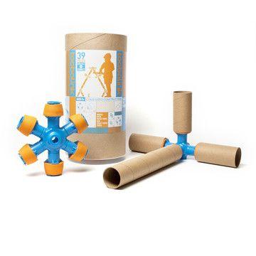 Toobalink Starter Kit: great kids gift....turn paper towel tubes into building tools!