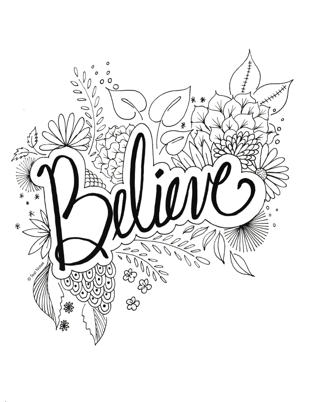 15 Quote Coloring Pages You Can Print And Color On Your Free Time