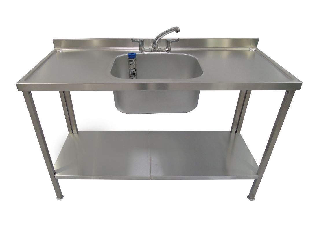 SML Stainless Steel Sink - Double Drainer - 1400mm | Professional ...