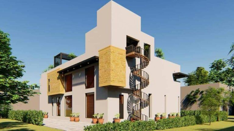 Residence Design By Suhail And Fawad Architects Islamabad Pakistan Architect Online Architecture Contemporary House Design