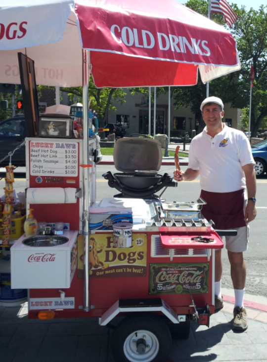 Hot Dog Stand Hire Sydney