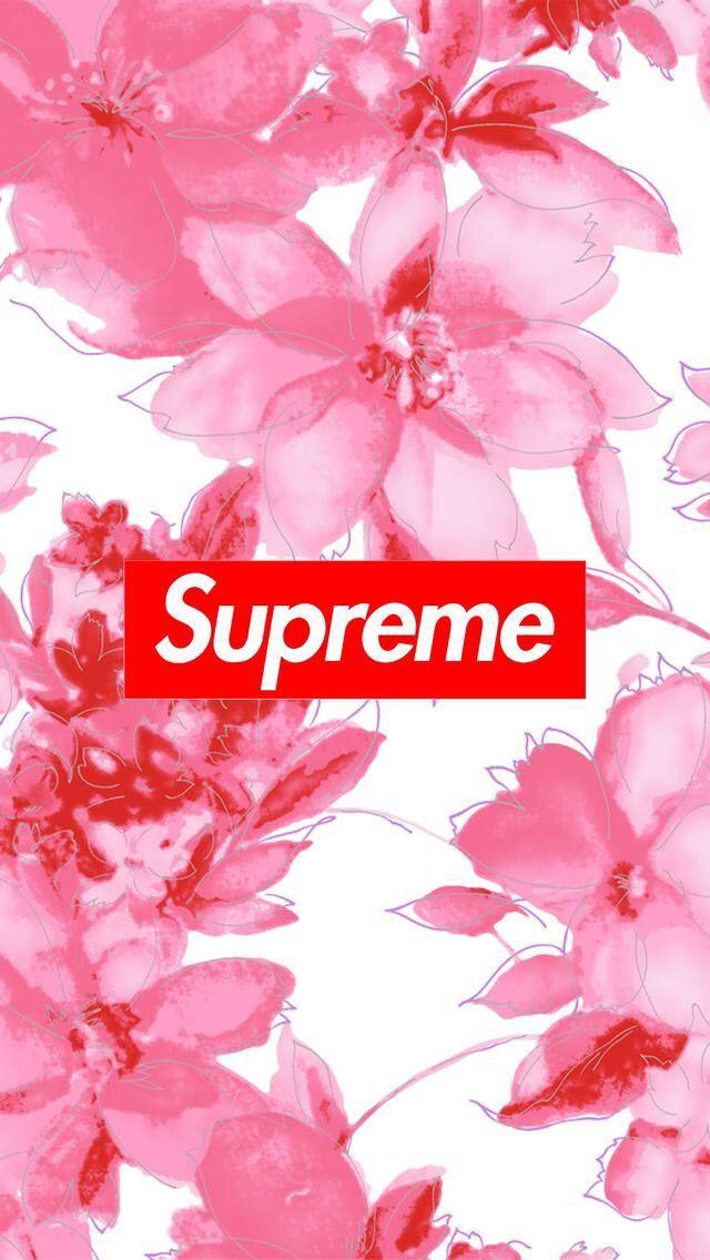 Supreme floral background