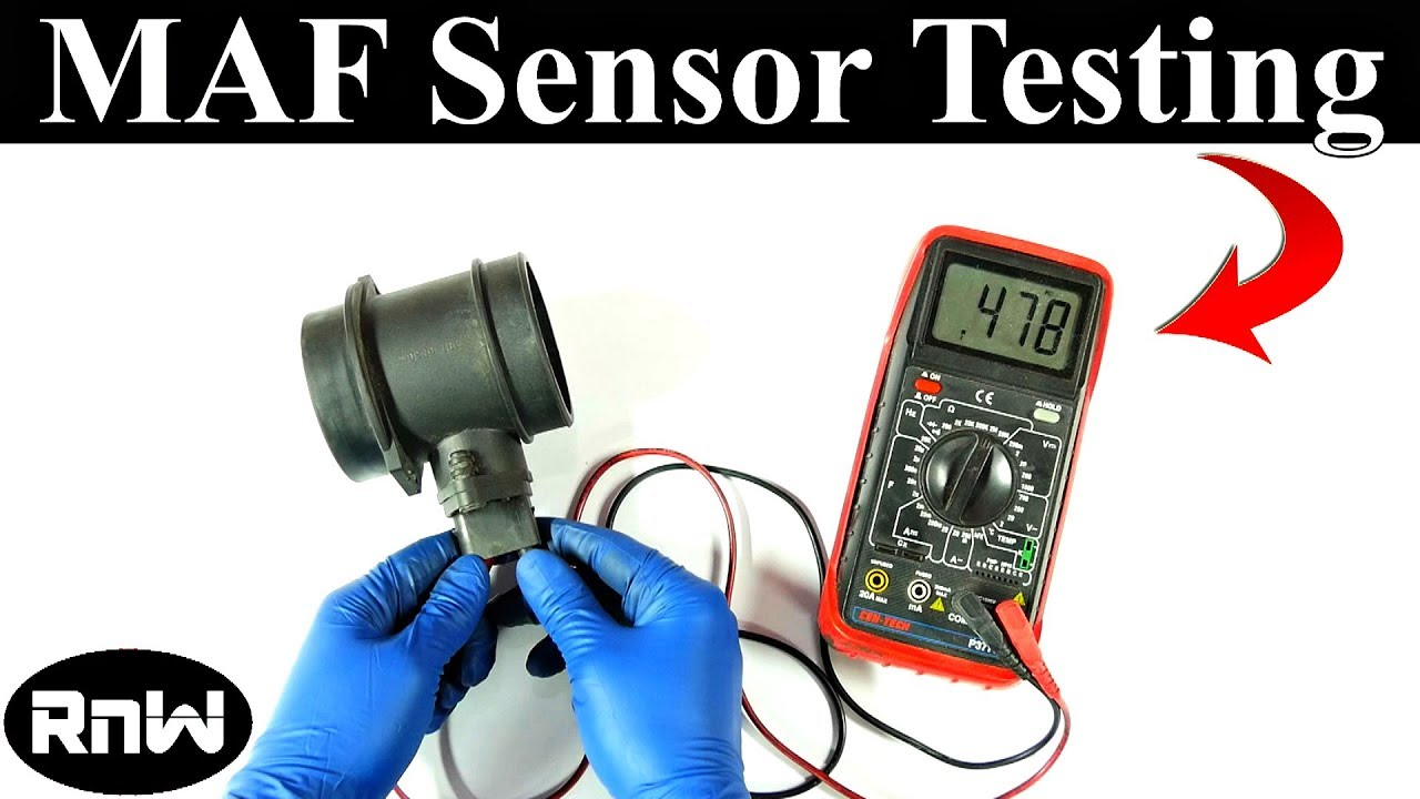 How To Clean a Mass Air Flow Sensor Cleaning, Repair