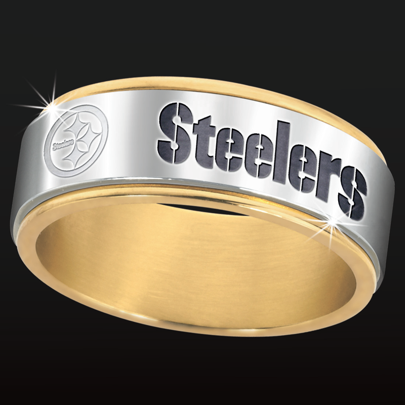 Pittsburgh Steelers Spinner Ring Pittsburgh steelers Steelers