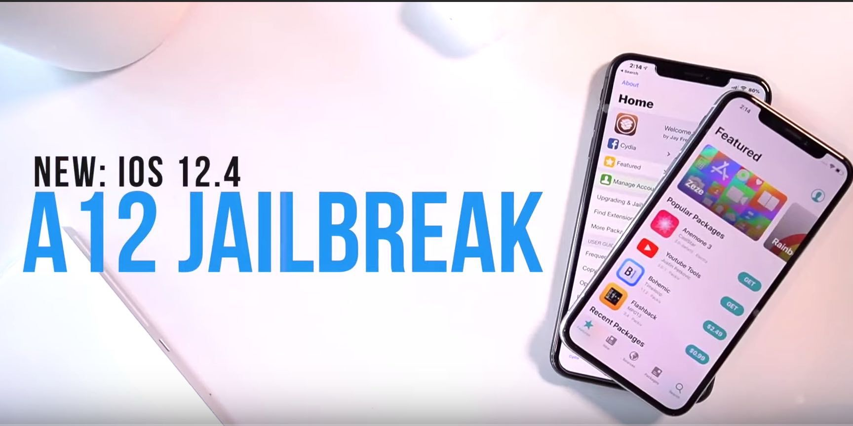 How To Jailbreak iPhone XR, XS NO COMPUTER Uncover A12 iOS
