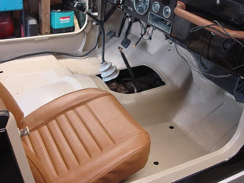 Monstaliner Sand Interior Bed Liner Jeep Jeep Wrangler Interior