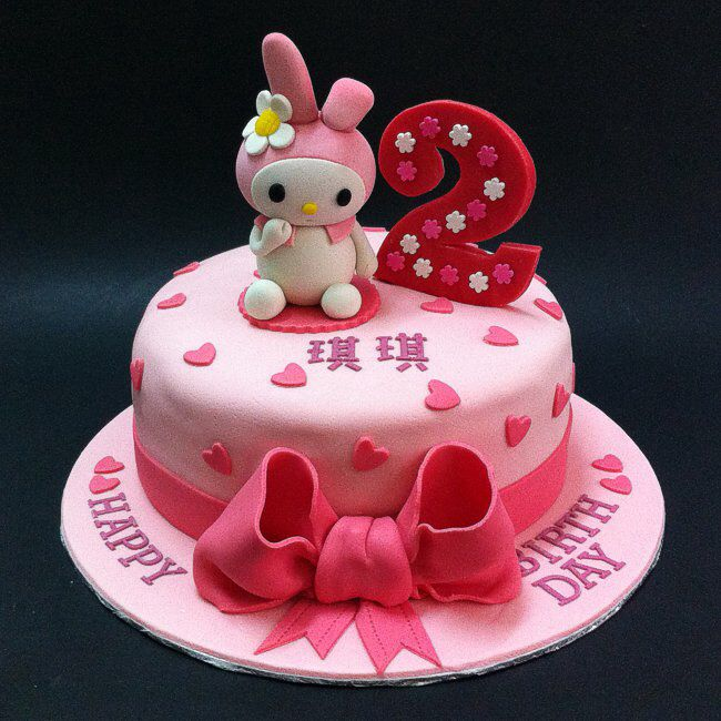 Hand Sculptured My Melody Themed Cake Cake House Johor Bahru Kuala
