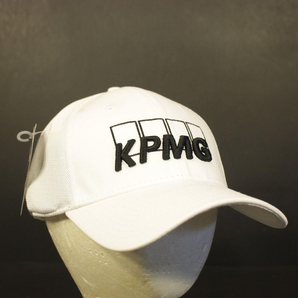 a84b72413ad Callaway KPMG Golf Hat Cap Strapback NWT White Adjustable Tour Authentic   Callaway  BaseballCap