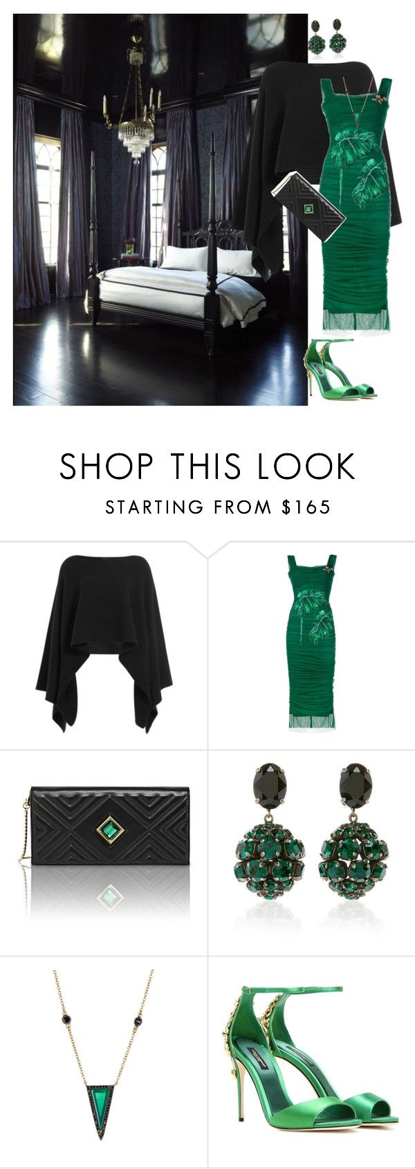 """French Quarter Glamorous!!"" by denibrad ❤ liked on Polyvore featuring Donna Karan, Dolce&Gabbana, Kristina George, Marni and Freida Rothman"