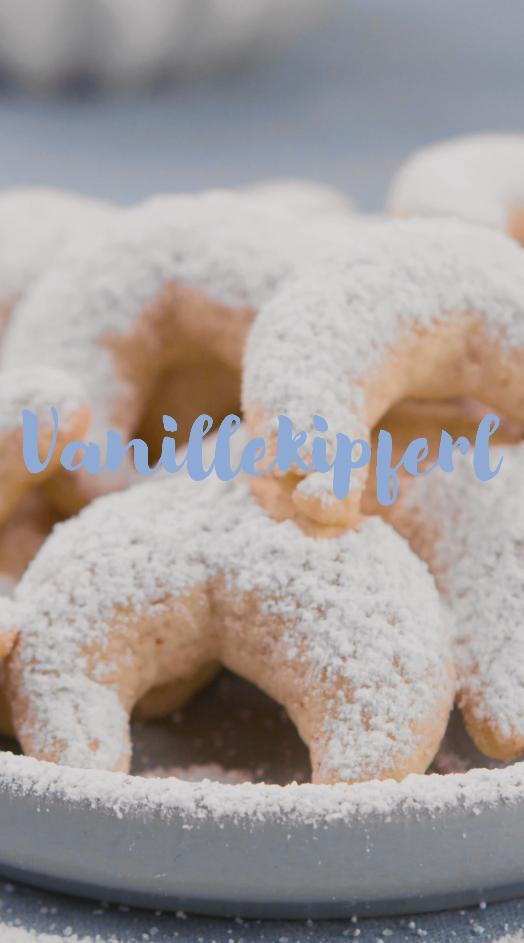 Klassische Vanillekipferl #vanillekipferlrezept