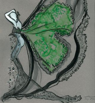 fashion illustration by Helen Storey