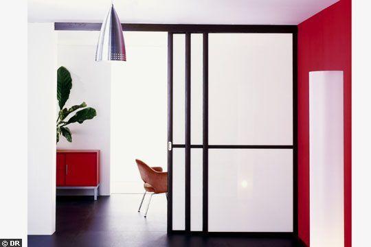 Esprit zen pour ces portes coulissantes verriere Pinterest Zen - porte coulissante sur mesure prix