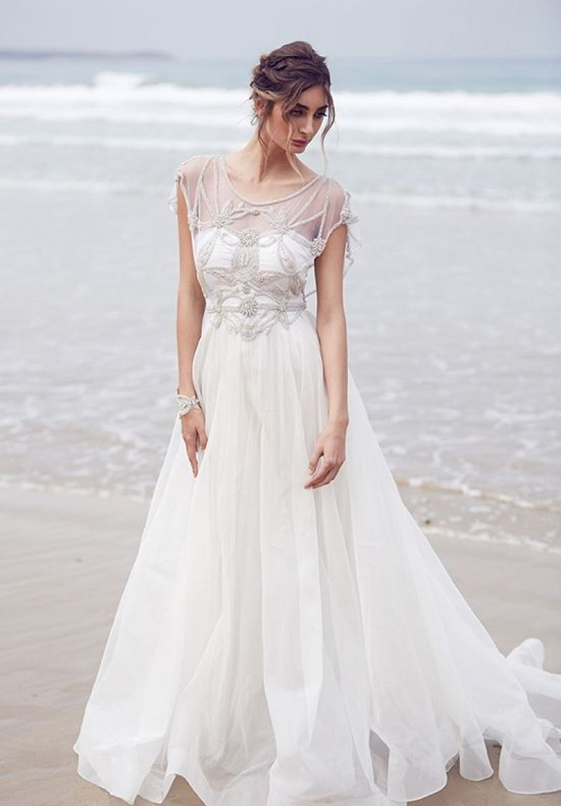 Best Flowy Wedding Dresses With Sleeves Wedding Dresses Wedding