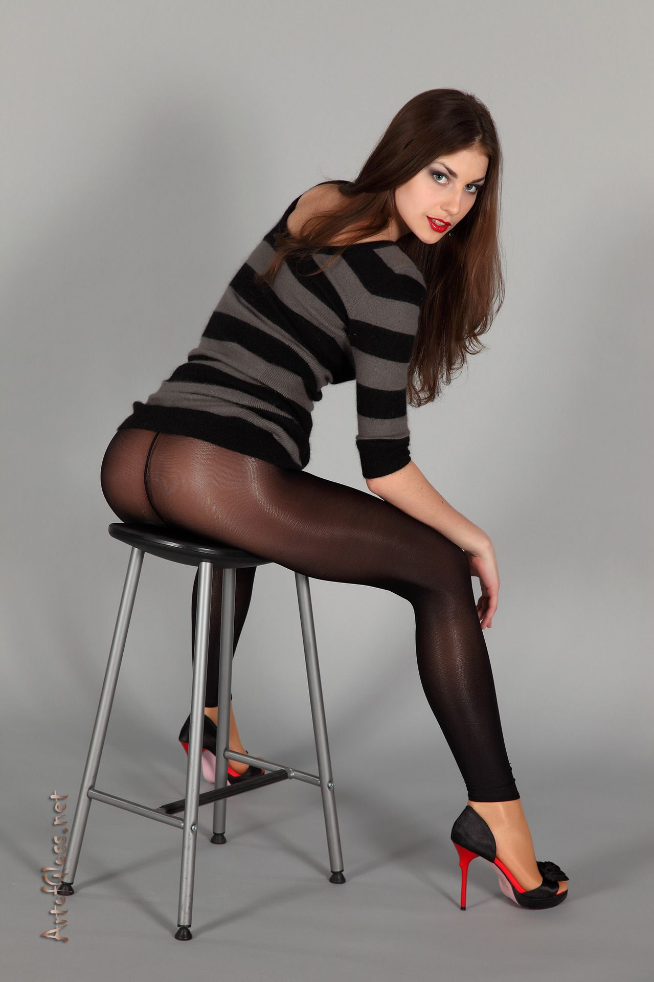 Jc penney pantyhose model — photo 1