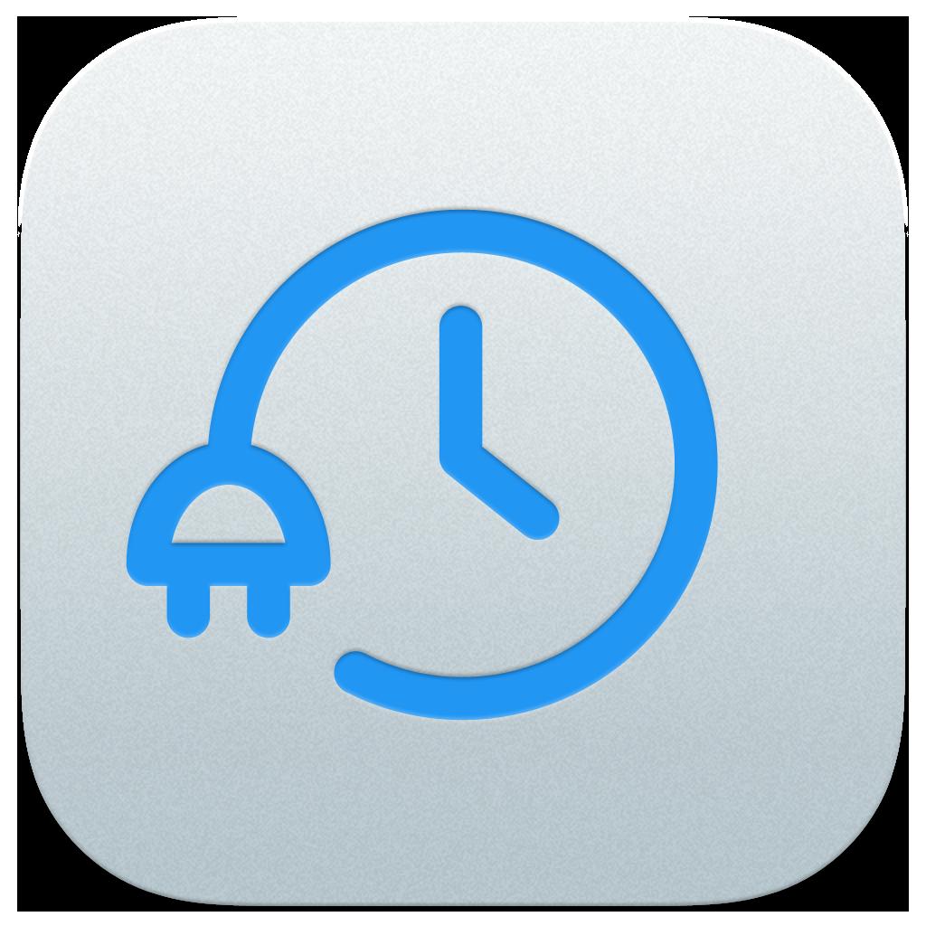 iOS App Icon - Metal finish with embossed logo | Unplug App ... for unplug icon  34eri