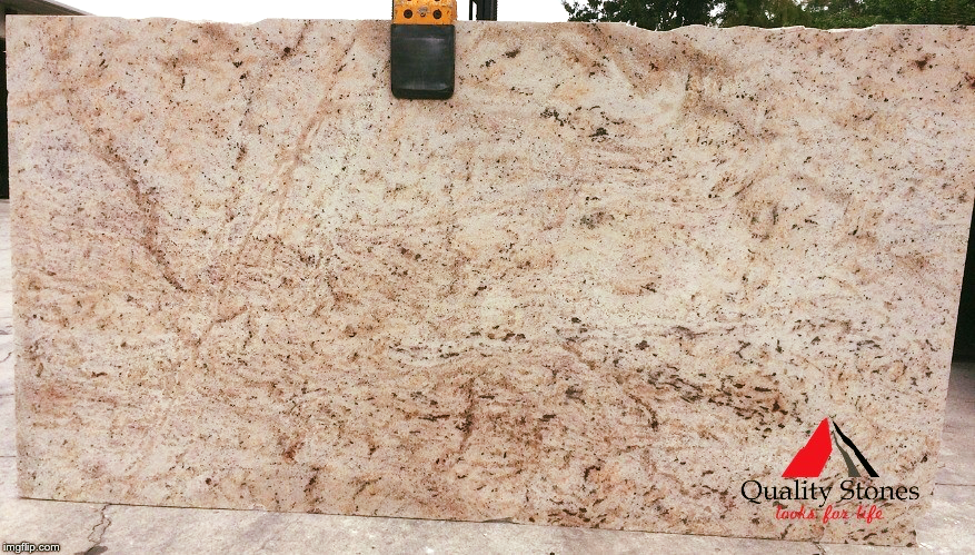 Ivory Brown Is A Light Grey Colored Granite With Peach Burgundy