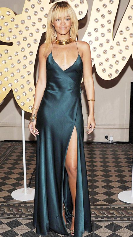 Style File: Rihanna's Best Red Carpet Looks Ever | Satin