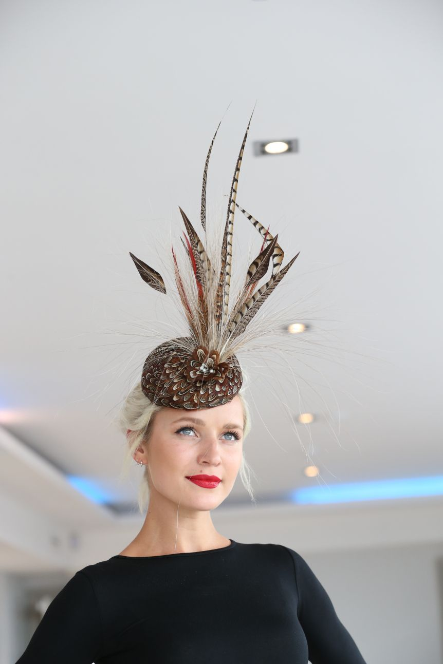 No Fee0223 Council Of Irish Fashion Designers 2016 With Images Feather Hair Accessory Couture Hats Millinery