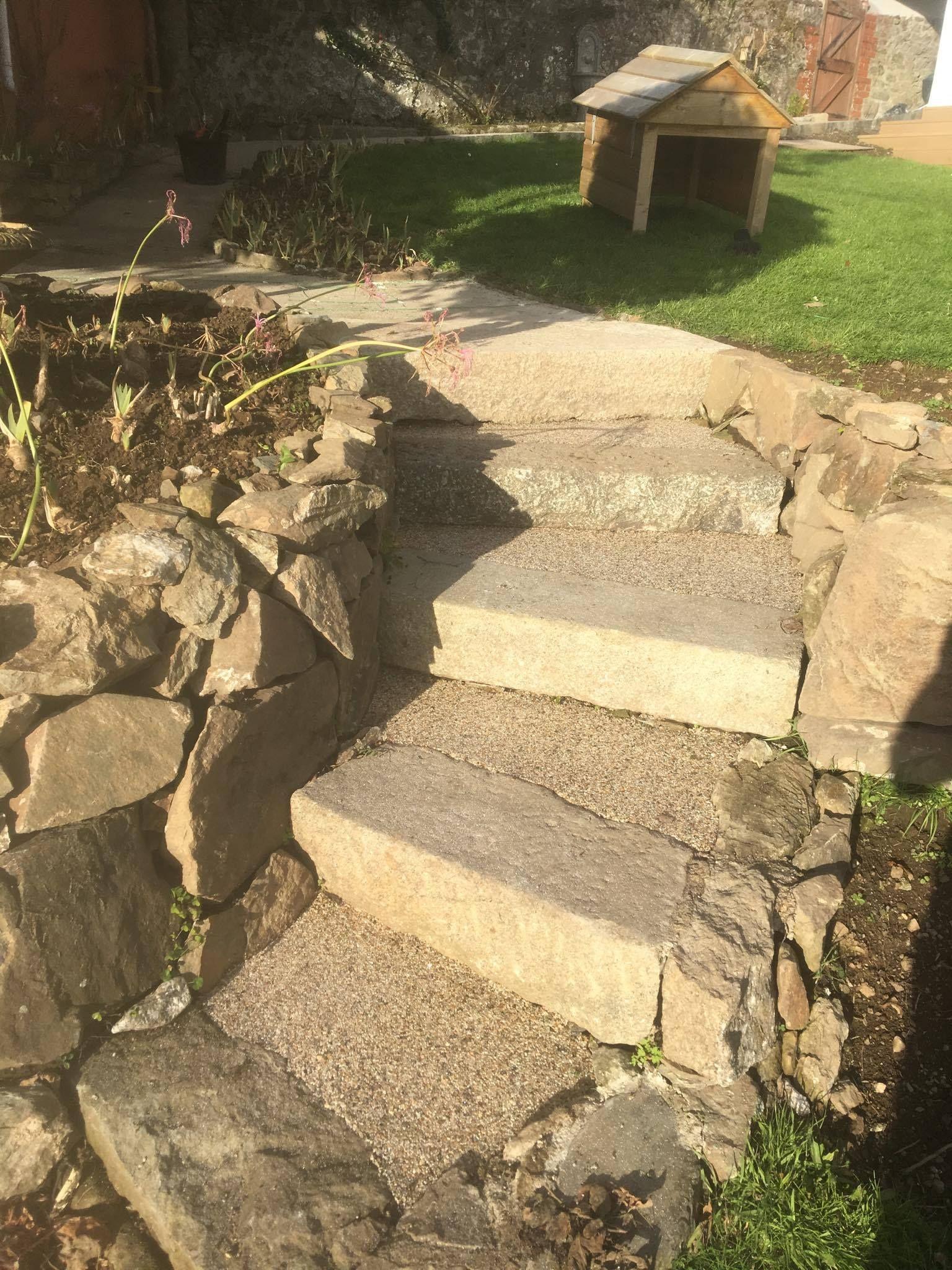 Resin bound gravel steps: #lowmaintenance#nonslip#decorative ...