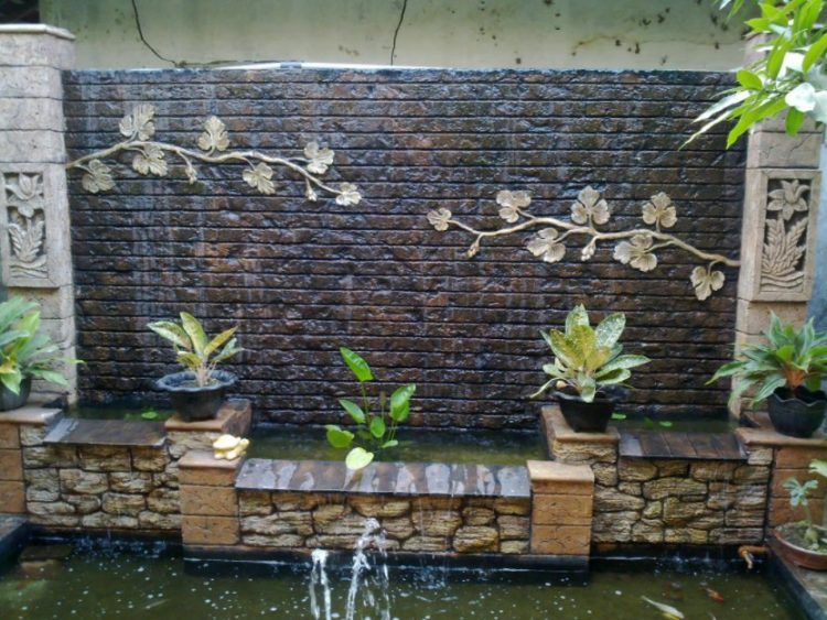 40 Backyard Wall Fountains Ideas Feng Shui With Water Fountains