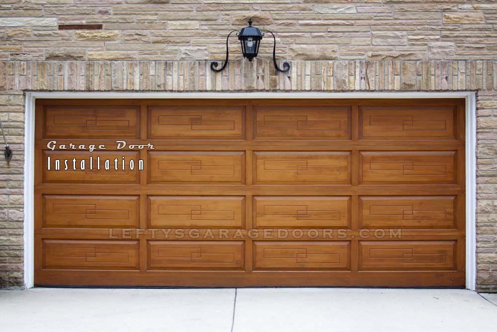 Need A Broken Garage Door Opener Replaced Need A Completely New Aluminum Garage Door System Installed T Wooden Garage Doors Wooden Garage Overhead Garage Door