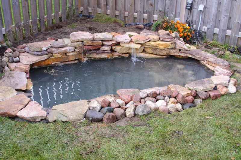 Koi pond construction plans the most common pond for How to build a small koi pond