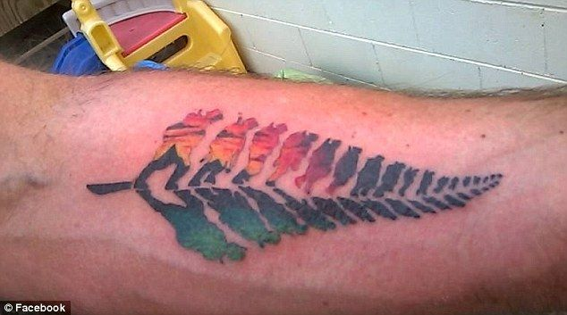 kiwi war veteran 39 s anzac tattoo is a social media hit around the globe tattoo and mom tattoos. Black Bedroom Furniture Sets. Home Design Ideas