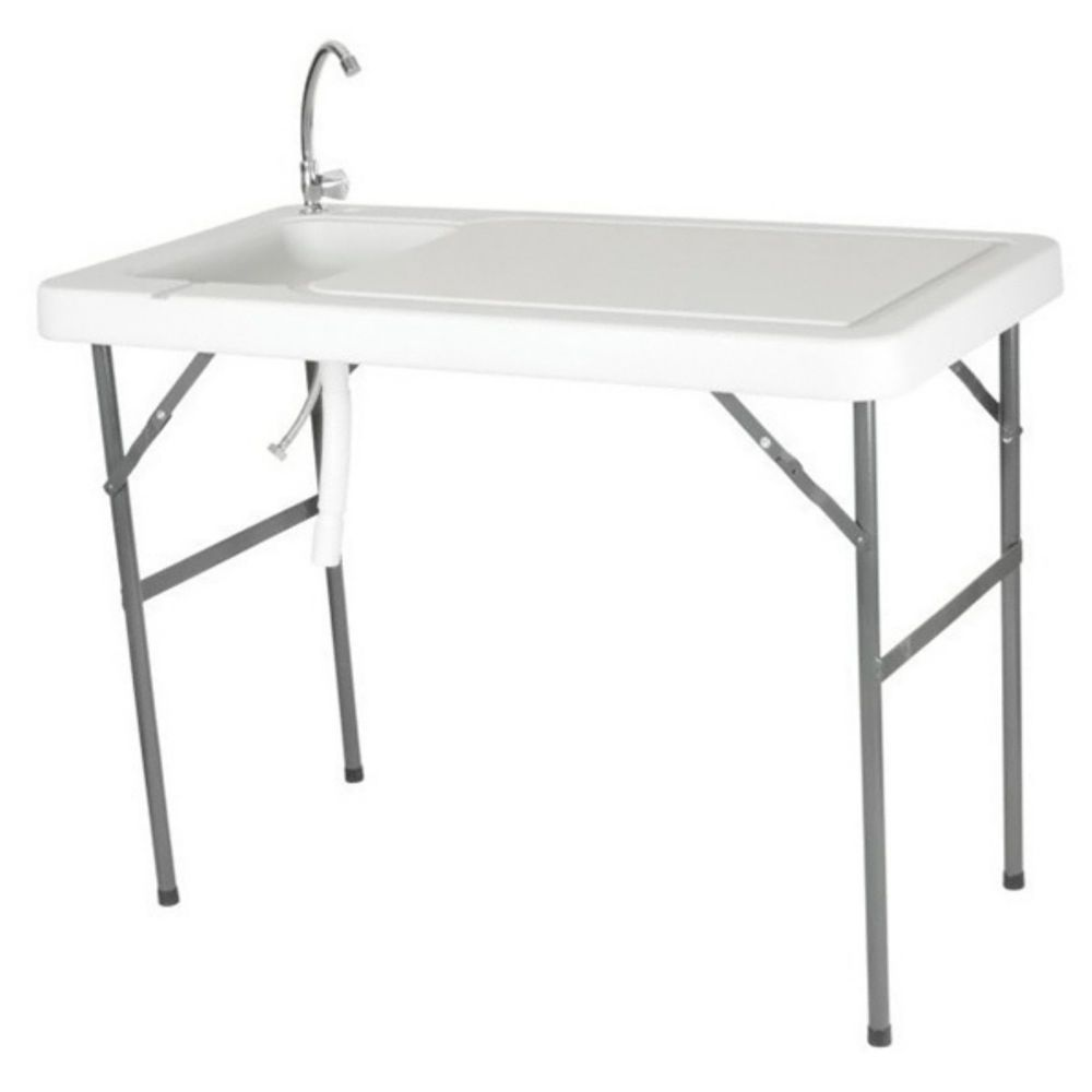 Portable Sink For Camping Station Garden Fish Cleaning Table With ...