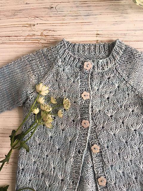 Multiflora baby set pattern by Anne B Hanssen #babysets