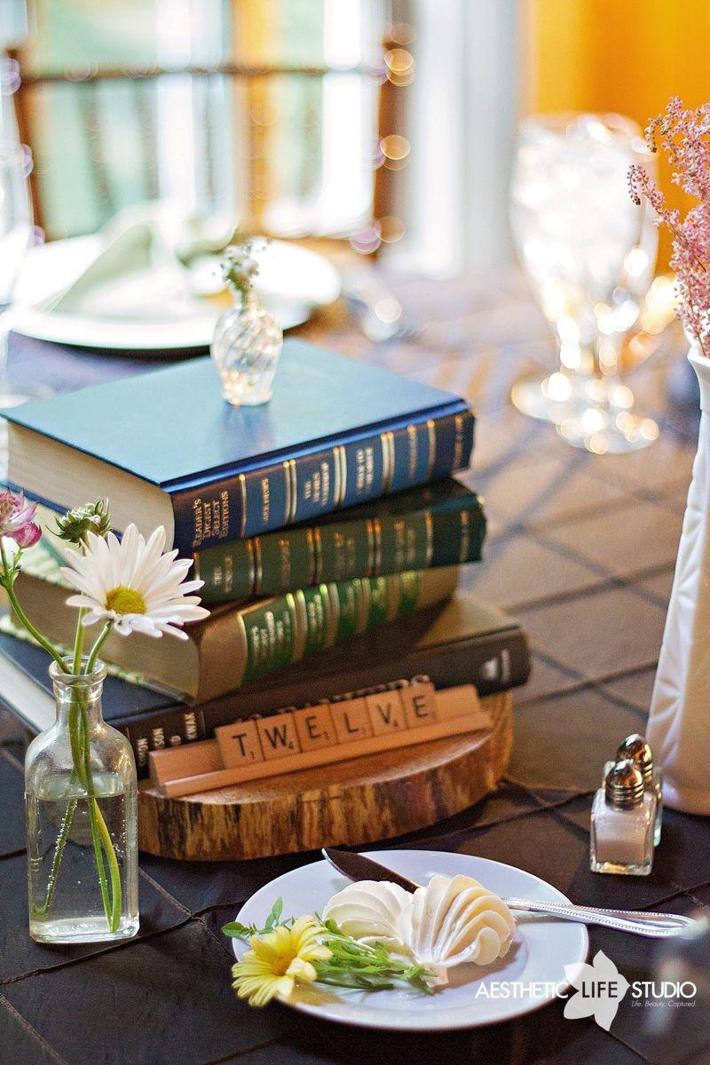 Highland lodge our wedding diy centerpieces